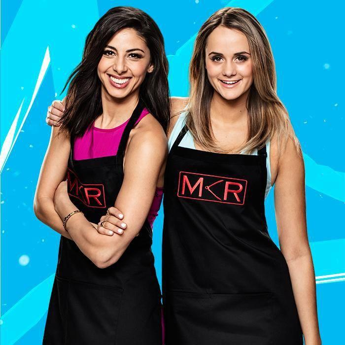 Roula competed on the cooking show alongside pal Rachael. Source: Channel Seven