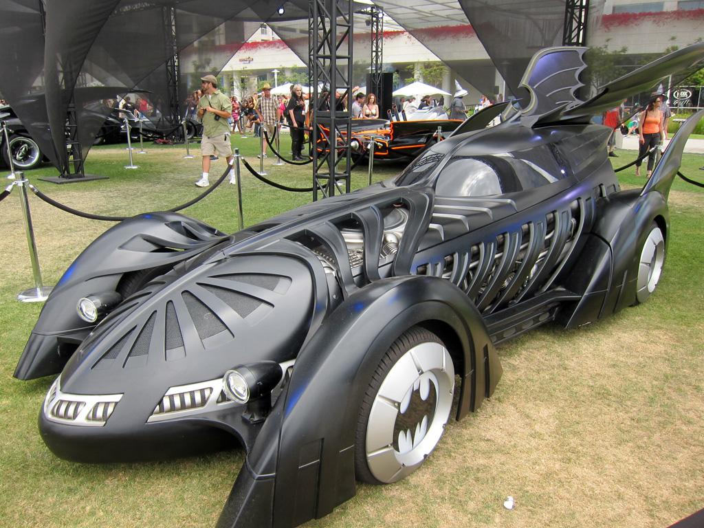 "The '""Val Kilmer"" Batmobile from 'Batman Forever' - San Diego Comic-Con 2012"