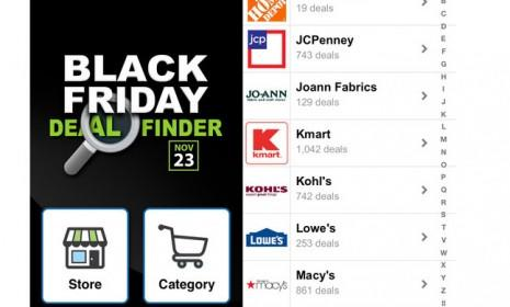 Fat Wallet's Black Friday app, one of the best, allows brave shoppers to search for deals using variables such as free shipping and online availability.