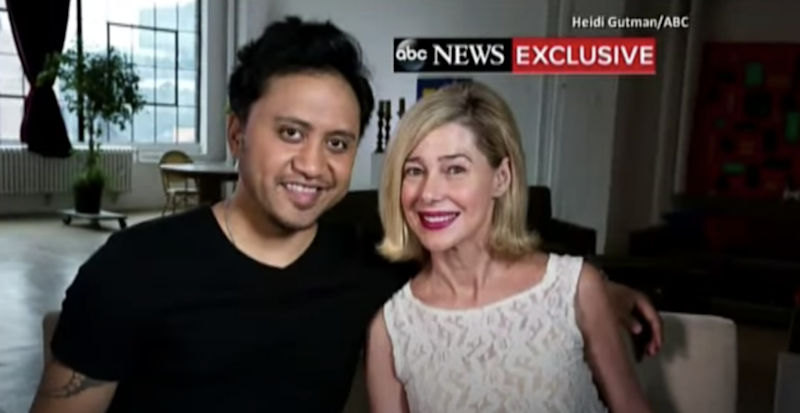 Pictured is Mary Kay Letourneau and her former student and husband, Vili Fualaau.