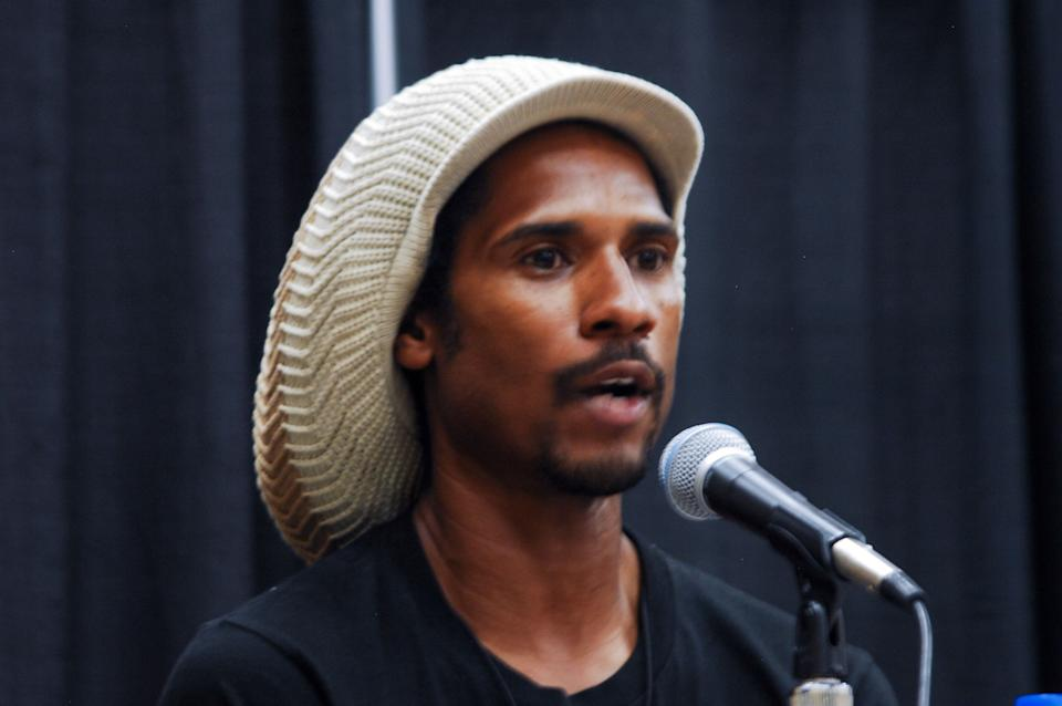 Mike Africa talks at Netroots Nation 2019 in Philadelphia on July 11, 2019, about what it was like when his parents finally came home after 40 years as political prisoners. (Photo: NurPhoto via Getty Images)