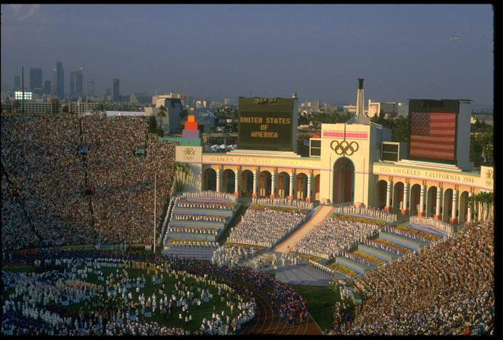 <p>Los Angeles was home to the Games of the XXIII Olympiad, and several competitions were held at the Los Angeles Memorial Coliseum. The Games will return to LA in 2028. </p>