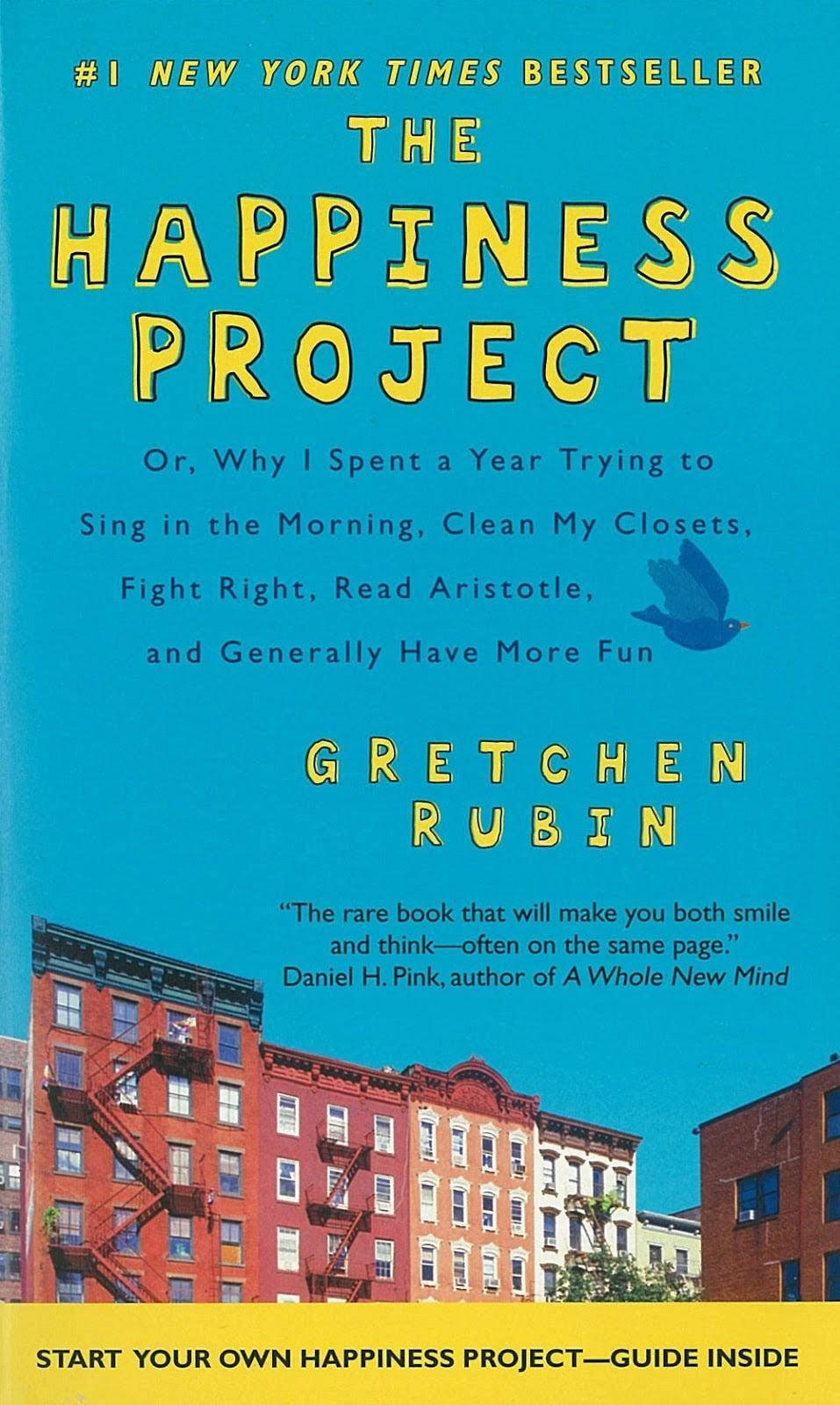 <p>One rainy afternoon on a bus, Gretchen Rubin decided to dedicate one year of her life to happiness. <span>The Happiness Project</span> recounts Rubin's adventures upon living life the scientifically backed happy way. </p>