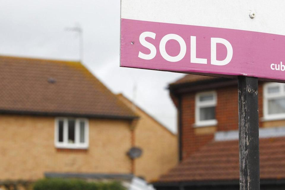 <p>Annual UK house price growth rose 6.9% in February</p> (Chris Ison/PA)