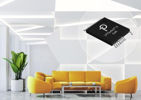 LYTSwitch-6 LED Drivers from Power Integrations Use PowiGaN Technology to Deliver Industry-Leading Power Density and Efficiency