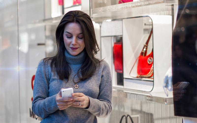The company's visual search engine can suggest items to buy based on photos