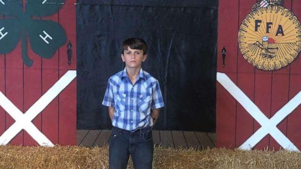 PHOTO: A boy from Ohio donated his livestock premiums from the Huron County Fair to St. Jude Children's Research Hospital. (Western Reserve Schools)