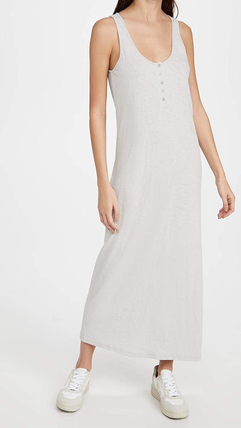 <p>This <span>Z Supply Miley Slub Midi Dress</span> ($35) is your answer to lazy days or off-duty weekends. Just add a leather jacket and some sneakers to transform it into a fall look.</p>
