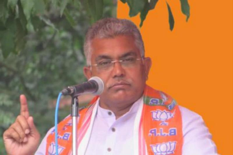 Those Saying 'We Won't Show Papers', Won't be Able to Show Their Faces: Dilip Ghosh Fires Fresh Salvo