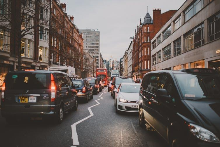 """<span class=""""caption"""">Transport emissions are not included in Labour's energy targets.</span> <span class=""""attribution""""><a class=""""link rapid-noclick-resp"""" href=""""https://unsplash.com/photos/BryYookJz_w"""" rel=""""nofollow noopener"""" target=""""_blank"""" data-ylk=""""slk:Anouk Fotografeert/Shutterstock"""">Anouk Fotografeert/Shutterstock</a></span>"""