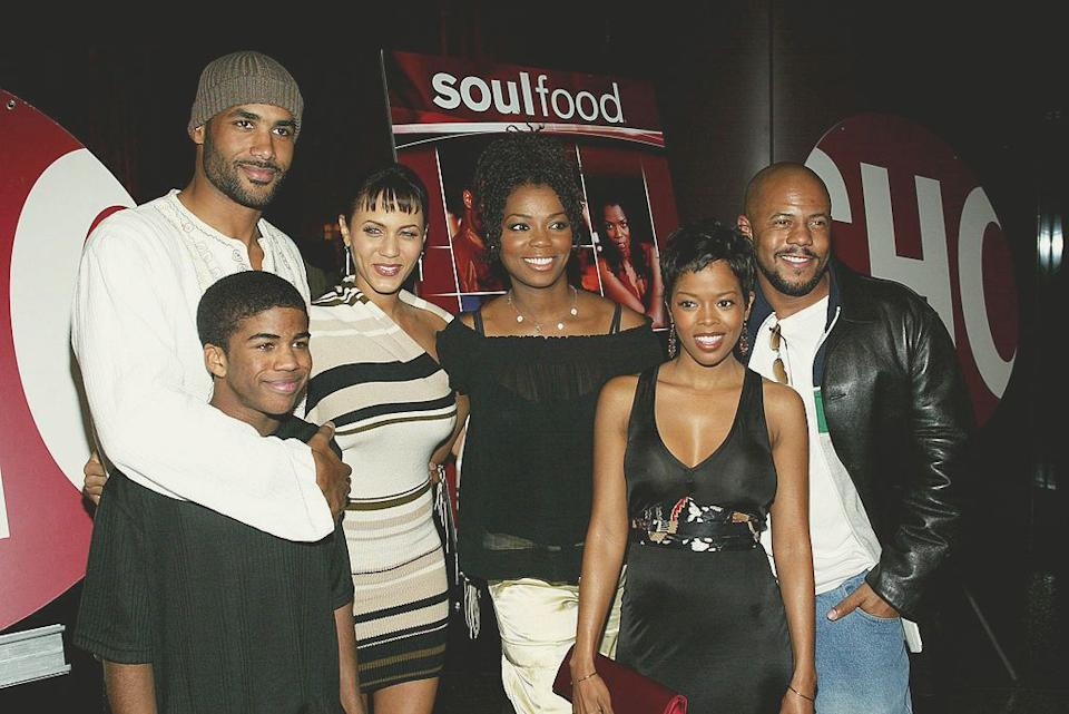 """The cast of """"Soul Food"""" attends the premiere screening at the Directors Guild of America in Los Angeles on Feb. 11, 2004. (Frederick M. Brown/Getty Images) (Photo: )"""