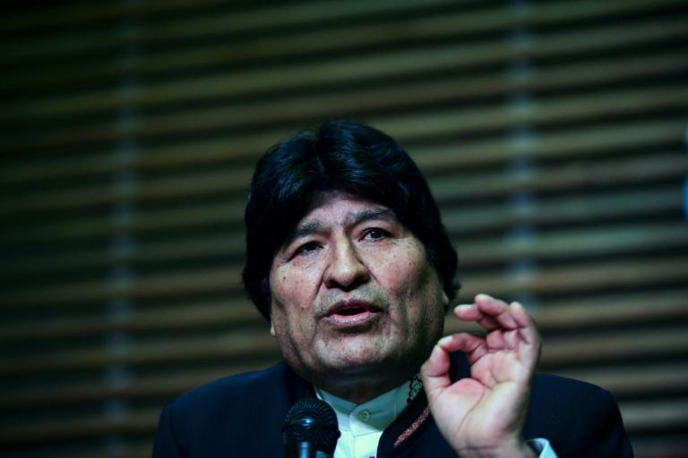 Bolivia president demands Morales face justice over accusations