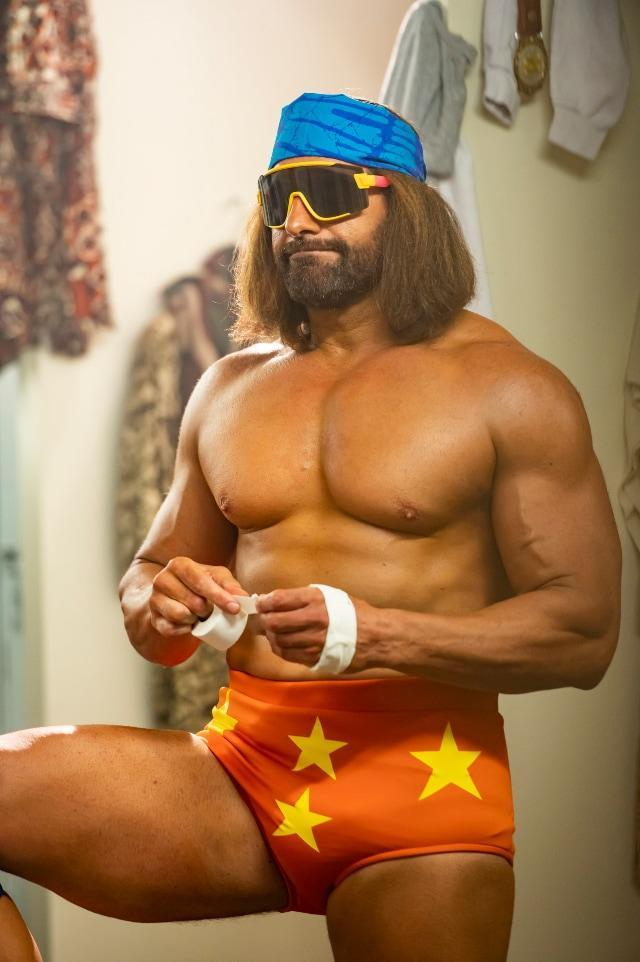 Kevin Makely as Macho Man Randy Savage in Young Rock