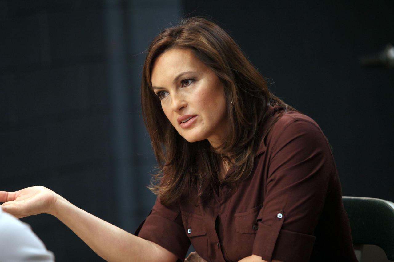 "LAW & ORDER: SPECIAL VICTIMS UNIT -- ""Justice Denied"" Episode 1318 -- Pictured: Mariska Hargitay as Detective Olivia Benson -- (Photo by: Eric Liebowitz/NBC)"