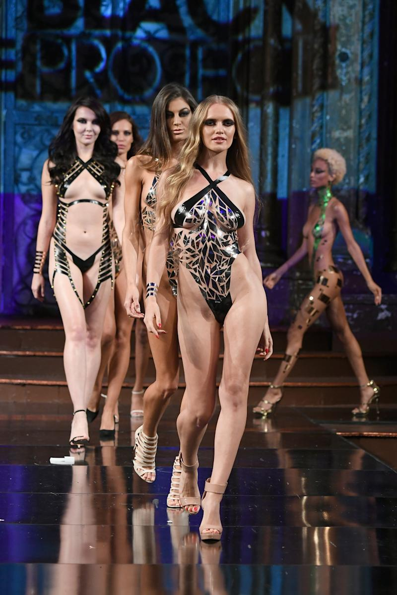 Black Tape Project >> Models Wearing Nothing But Black Tape Hit Nyfw In Jaw Dropping Show