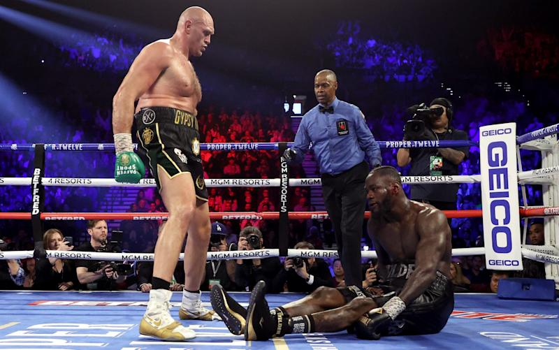 Tyson Fury dominated Deontay Wilder from start to finish - AL BELLO / GETTY
