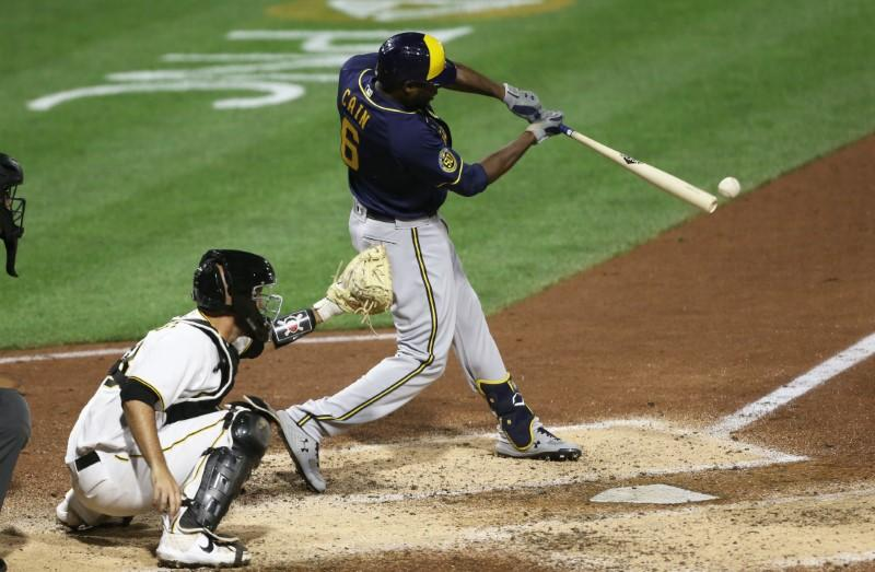 Brewers OF Cain opts out of season after five games