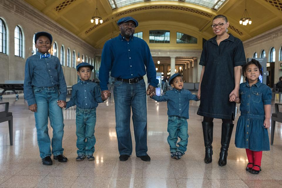 Shawn and Sheletta Brundidge are parents to Andrew, 12, Brandon, 6, Daniel, 4, Cameron, 5, pictured left to right. (Photo courtesy of Sheletta Brundidge)