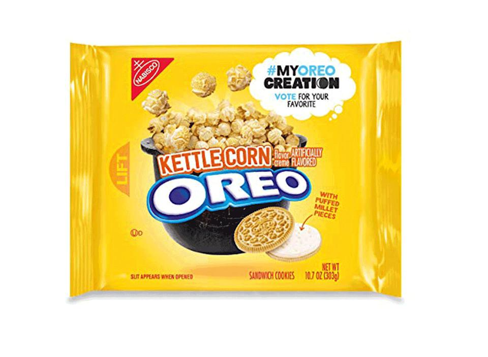 kettle corn popcorn oreo pack my oreo creation