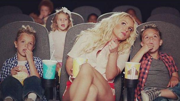 Cute Photo: Britney's Boys In New Music Video