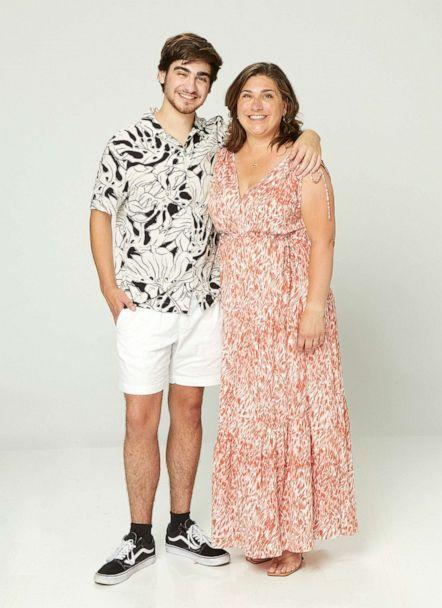 PHOTO: Chase Statkevicus pictured with his mother Kimberly Statkevicus in 2021. (ABC)
