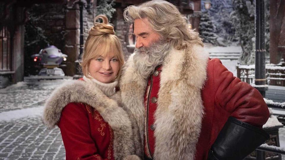 """<p>It's never too early to talk about Christmas, mmkay!! The follow-up to the 2018 Netflix <a href=""""//www.cosmopolitan.com/entertainment/movies/a33336042/hallmark-christmas-movie-schedule-2020/"""" data-ylk=""""slk:holiday movie"""" class=""""link rapid-noclick-resp"""">holiday movie</a> starring Kurt Russell as Santa will see a mysterious troublemaker threaten to cancel Christmas. Many of the main players from part one are set to return. Goldie Hawn is also set to make an appearance when the film drops down the chimney just in time for the 2020 holiday season.</p>"""