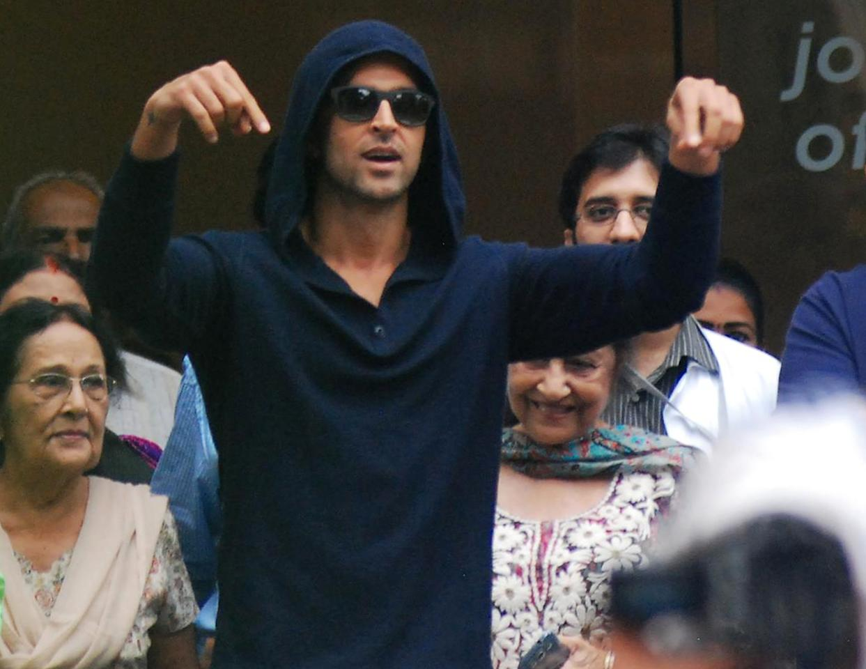 8: Hrithik Roshan has 27.3 million followers