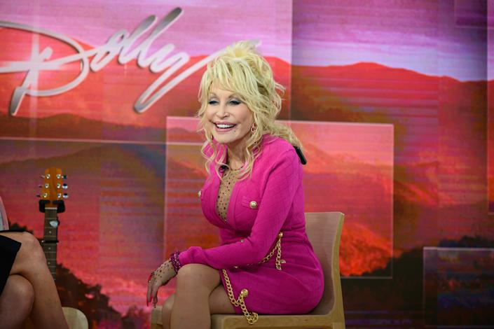 Dolly Parton on Wednesday, November 20, 2019. (Photo by: Nathan Congleton/NBC/NBCU Photo Bank via Getty Images)