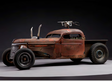 BUGGY: RATROD CHEV from Mad Max Fury Road
