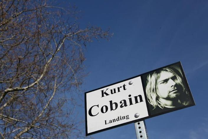 Less than three years after Nevermind was released, Kurt Cobain had taken his own life (AFP/Sébastien VUAGNAT)
