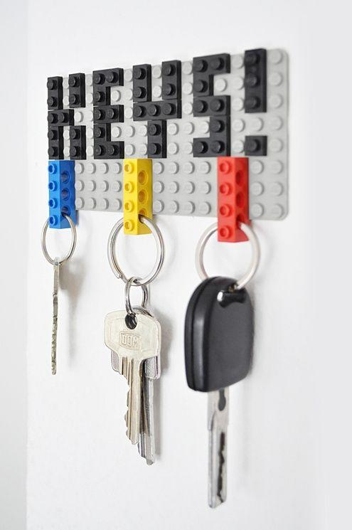 """<p>Because he's literally always losing his keys.</p><p>Get the tutorial at <a href=""""https://www.manmadediy.com/2223-diy-idea-make-a-lego-key-organizer"""" target=""""_blank"""">ManMade</a>.</p><p><a class=""""body-btn-link"""" href=""""https://go.redirectingat.com?id=74968X1596630&url=https%3A%2F%2Fwww.target.com%2Fp%2Flego-classic-blue-baseplate-10714%2F-%2FA-52694417&sref=http%3A%2F%2Fwww.housebeautiful.com%2Fentertaining%2Fholidays-celebrations%2Fg22700158%2Fdiy-homemade-gifts-for-dads%2F"""" target=""""_blank"""">BUY NOW</a> <strong><em>Lego Baseplate, $6</em></strong></p>"""