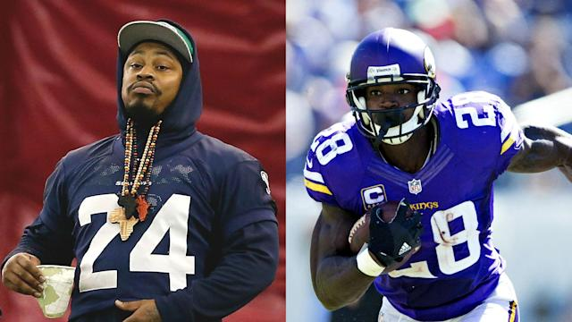 The list of available free-agent running backs helps explain why the Raiders are interested in retired Seahawk Marshawn Lynch.