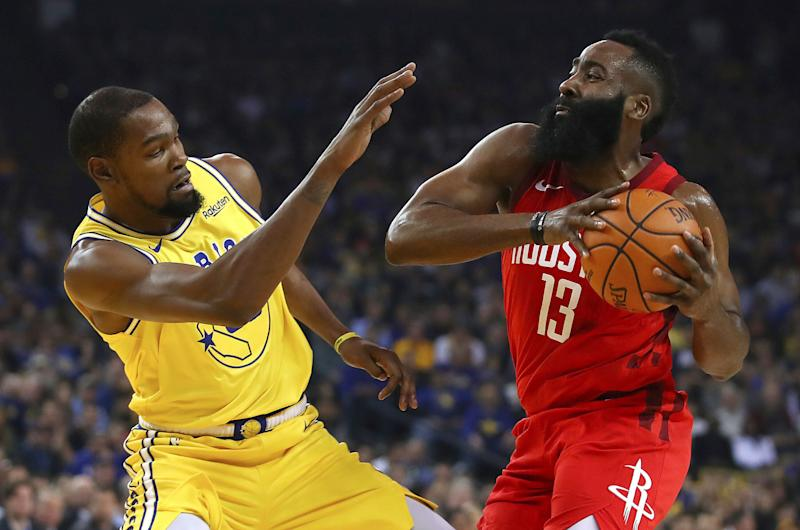 Harden still dealing with eye injury; will play in Game 3