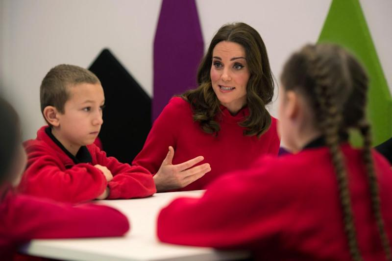 Points to Kate for trying! Photo: Getty