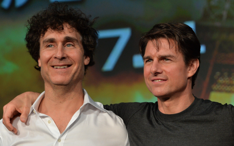 Doug Liman and Tom Cruise (Credit: YOSHIKAZU TSUNO/AFP via Getty Images)