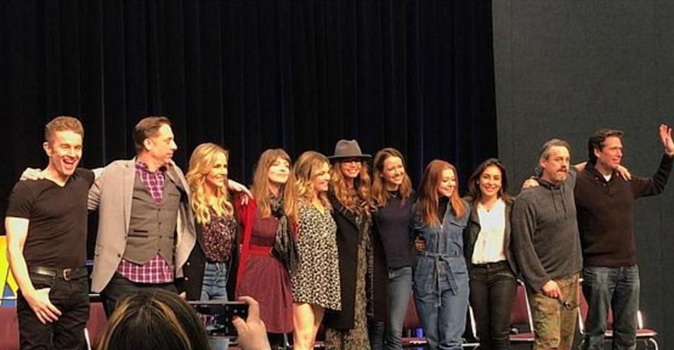 11 of the cult show's cast reunited. (Instagram)