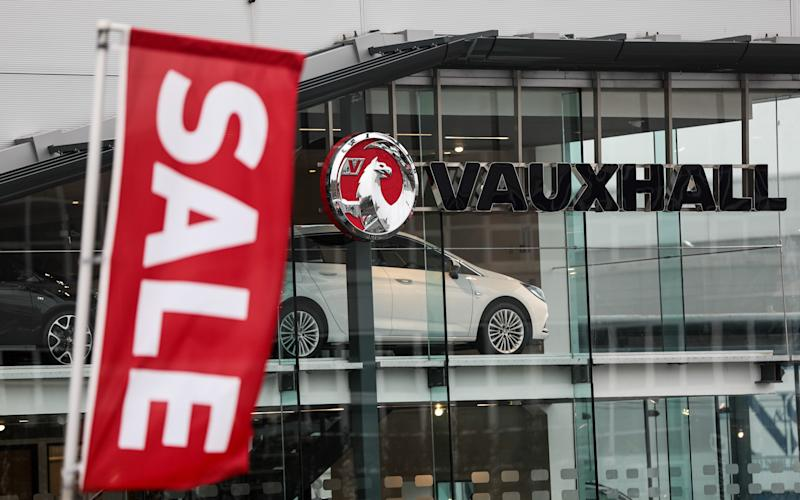 Dealers will be given two years' notice from April 30 that the Vauxhall is ending its relationship with them - © 2017 Bloomberg Finance LP