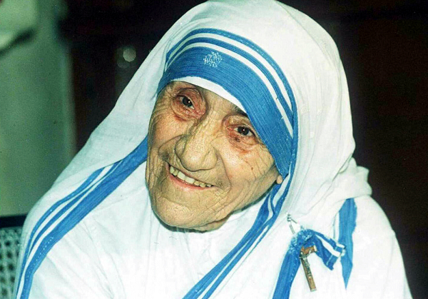 Mother Teresa's famous blue bordered sari now trademarked