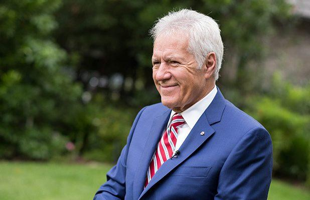 Alex Trebek Back to Work on 'Jeopardy' After Cancer Treatment: 'I'm on the Mend' (Video)