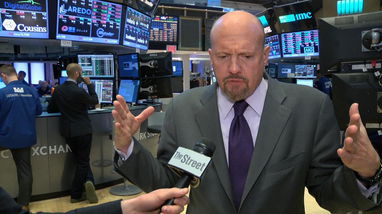 """<p>TheStreet's Action Alerts PLUS Portfolio Manager Jim Cramer discusses Friday's most talked about stocks including <strong>J.C. Penney</strong>   <ticker symbol=""""JCP"""" type=""""EQUITY"""" primary=""""NO"""" /> , <strong>Foot Locker</strong>   <ticker symbol=""""FL"""" type=""""EQUITY"""" primary=""""NO"""" /> and <strong>Hewlett Packard Enterprise    <ticker symbol=""""HPE"""" type=""""EQUITY"""" primary=""""NO"""" /> </strong>.</p>  <p>Retailer J.C. Penney said it would close 130 to 140 stores.</p>  <p>""""It's news that they closed those stores, because we had felt that they were doing better,"""" Cramer said.</p>  <p>In retail, Cramer likes TJX Companies   <ticker symbol=""""TJX"""" type=""""EQUITY"""" primary=""""NO"""" /> . TJX is a holding of Cramer's charitable trust Action Alerts PLUS.</p>  <p>Meanwhile, Foot Locker reported better than expected earnings Friday. """"Foot Locker is the only mall based store that is really doing it right,"""" Cramer said.</p>"""