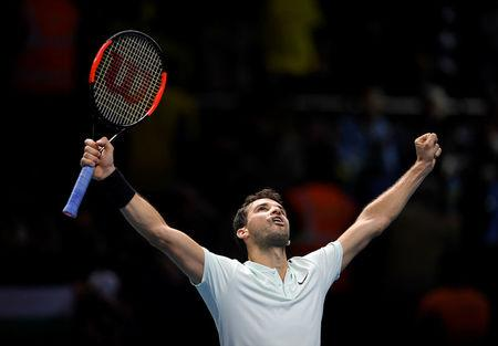 Grigor Dimitrov demolishes David Goffin to storm into last four — ATP Finals