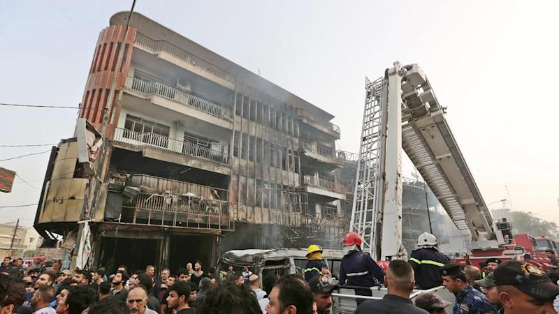 Death toll from Baghdad blast now 250