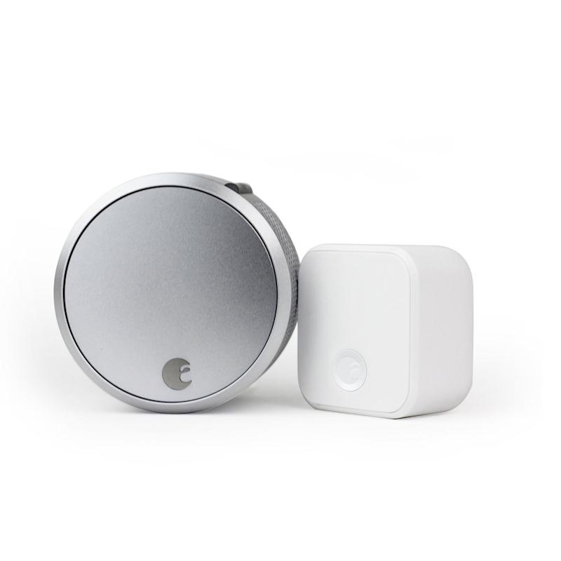 August SL03C02S03 Smart Lock Pro + Connect. Image via Amazon.