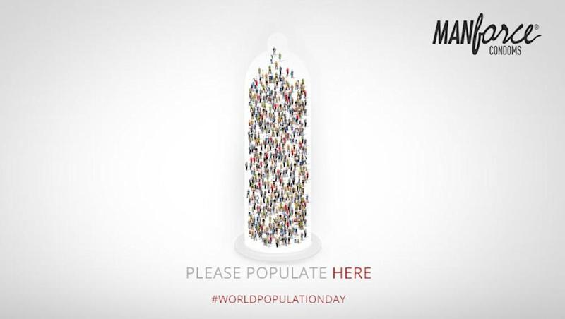 Manforce Condoms Gets All Our Attention on World Population Day 2019 With Smart Creative 'Please Populate Here'