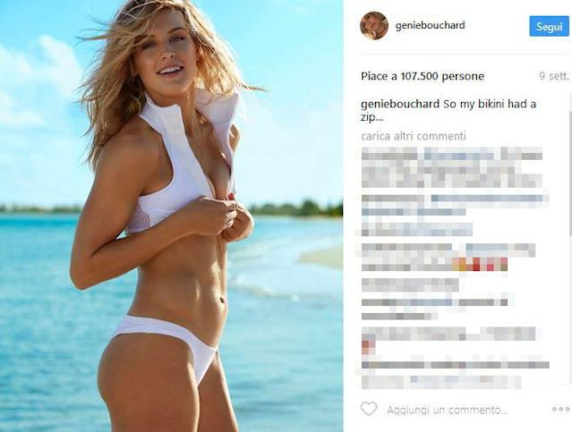 "<p>La canadese ha posato anche per la ""swimsuite"" di Sport Illustrated mostrando un fisico impeccabile. (Foto Instagram) </p>"