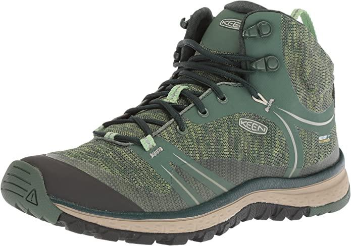 "<h2>Keen Terradora Mid Hiking Boot</h2><br><strong>The Best Bang For Your Buck</strong><br>Reviewers found Keen's Terradora boot to be a satisfying mid-priced option, boasting the bells, whistles, and overall quality of a much more expensive boot.<br><br><strong>The Hype: </strong>4.6 out of 4 stars, 731 reviews on Amazon.com<br><br><strong>What They're Saying: </strong>""I have had a hard time finding hiking boots that A) wasn't hideous and B) were wide across my knuckles and toes. I was so happy to find that these were roomy and comfortable while being pretty cute. They are wide so my toes don't rub together, don't rub against the outside of the boot, and the bed of my foot can splay out in comfort. I'm usually a 7 or 7.5, but I loved these in an 8. The bit of extra length saves your toes from bumping the front of the boot while descending and keeps your heel from rubbing tightly against the back. Just used these to hike near Mt. Baker through lots of mud and some snow. The water stayed out and my feet stayed comfy- despite the extreme ascending and descending slopes to and from the summit of the trail. Boots can be outrageously expensive. These felt better than the $300 pairs for me. The suede is soft, so there's no time needed to 'break them in'. Two thumbs up! Love them!"" <em>— Anonymous, Amazon.com reviewer</em><br><br><strong>KEEN</strong> Terradora Mid Hiking Boot, $, available at <a href=""https://amzn.to/33sa7o5"" rel=""nofollow noopener"" target=""_blank"" data-ylk=""slk:Amazon"" class=""link rapid-noclick-resp"">Amazon</a>"