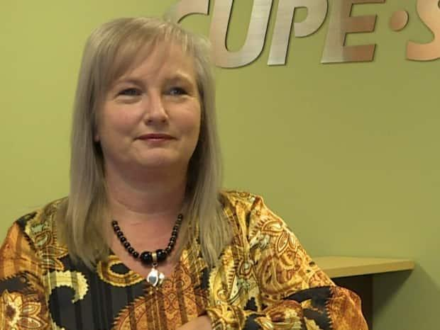 Sherry Hillier, president of the provincial branch of the Canadian Union of Public Employees, says members of her union who are employed in health care are overworked and racking up overtime because there aren't enough people to do the work before them.