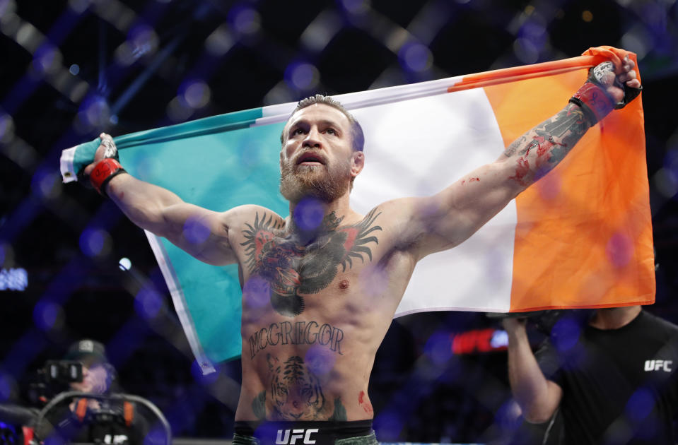 UFC star Conor McGregor announced he will purchase €1 million worth of supplies for local Irish hospitals to help fight the spread of the coronavirus.