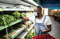 """<p>Do two big shopping trips for Thanksgiving: one for those canned goods and nonperishables and another for fresh produce, dairy, eggs and more. Make that second trip just a couple days before the holiday, and pay close attention to <a href=""""https://www.thedailymeal.com/eat/time-food-lasts?referrer=yahoo&category=beauty_food&include_utm=1&utm_medium=referral&utm_source=yahoo&utm_campaign=feed"""" rel=""""nofollow noopener"""" target=""""_blank"""" data-ylk=""""slk:how long milk, Brussels sprouts and more items will stay fresh in your fridge and freezer"""" class=""""link rapid-noclick-resp"""">how long milk, Brussels sprouts and more items will stay fresh in your fridge and freezer</a>.</p>"""