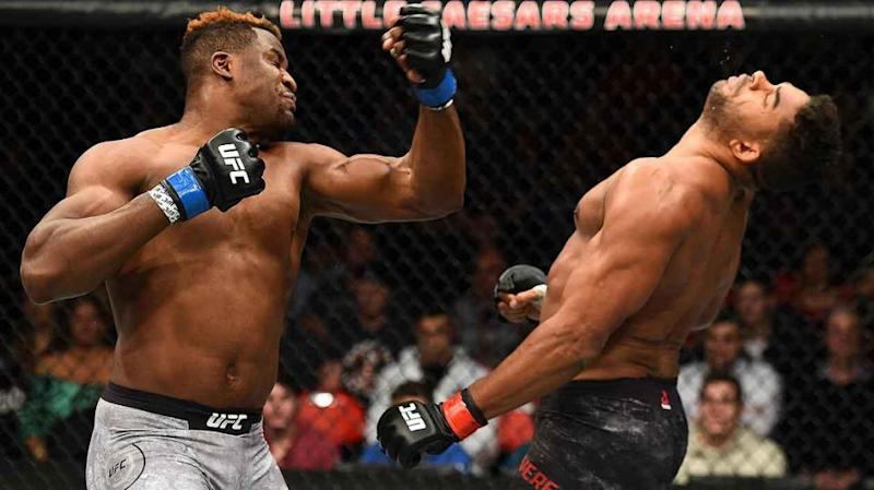 Overeem was out before he hit the canvas. Pic: Getty